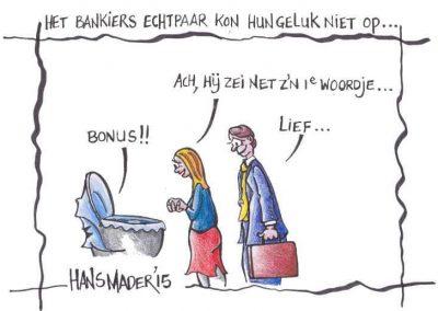 cartoon hans mader bankier echtpaar