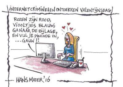 cartoon hans mader internetcriminelen