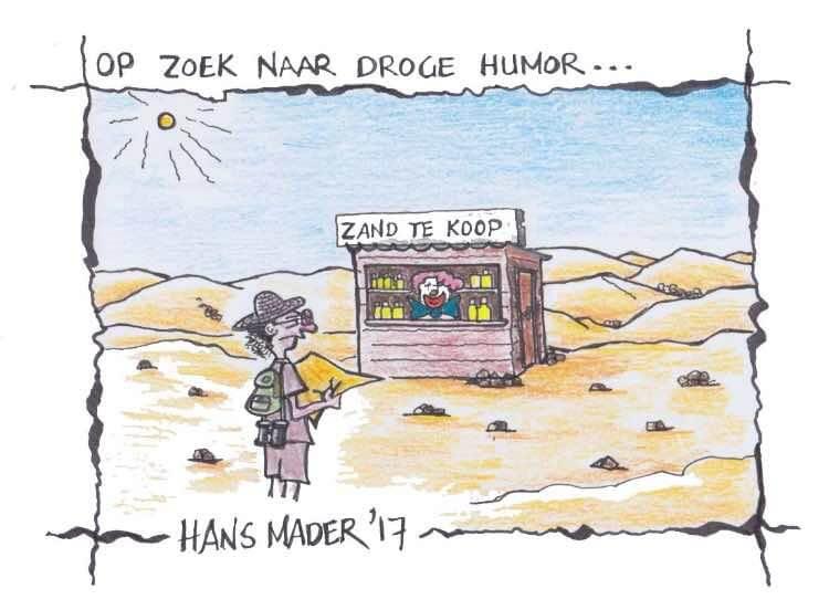 Op zoek naar droge humor